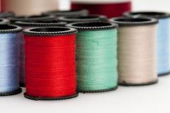 Bobines colorées d'amorçage Photographie stock libre de droits
