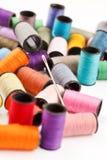 Bobines d'amorçage de lurex Images stock
