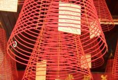 Bobines d'encens dans la ville de Hoi An photos stock