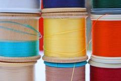 Bobines de coton Photographie stock