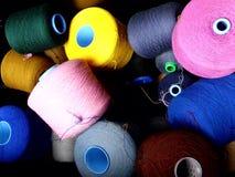 Bobines de coton Photographie stock libre de droits