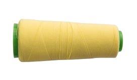 Bobines de fil d'isolement sur le fond blanc Photo stock