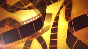 Bobines de roulement de bande de film Photo libre de droits