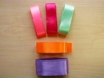 Bobines de ruban de couleur Photos libres de droits