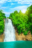 Bobla waterfall Royalty Free Stock Images