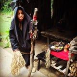 Bobohizan (sciamano) Fotografia Stock
