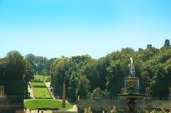 Boboli庭院在佛罗伦萨托斯卡纳 库存照片