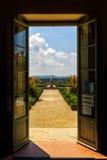 Boboli庭院在佛罗伦萨,托斯卡纳,意大利 免版税库存图片