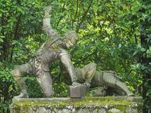 Boboli庭院,佛罗伦萨 库存照片
