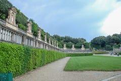 Boboli cultiva un huerto Florencia, Italia Fotografía de archivo