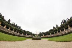 Boboli Garden in Florence, Italy Royalty Free Stock Images