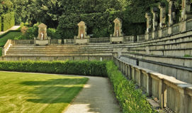 Boboli Gardens in Florence Royalty Free Stock Photography