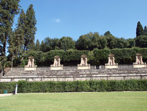 Boboli Gardens Amphitheatre - Florence Stock Images
