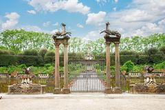 Boboli gardens Royalty Free Stock Images