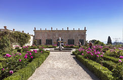 The Boboli gardens in Florence, garden Cavaliere Royalty Free Stock Photos