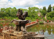 Boboli gardens in Florence, Italy stock photos