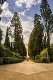 The Boboli Gardens Giardino di Boboli Park. Florence`s park - Public gardens laid out in the 15th–16th centuries, with Renaissance statues & ornate fountains Stock Photography