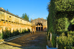 The Boboli Gardens Grotto stock image