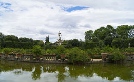 Boboli gardens. The most beautiful green place in Florence Stock Images