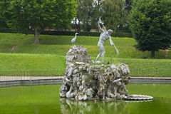 Boboli gardens. The most beautiful green place in Florence Royalty Free Stock Images