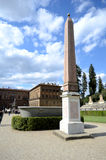 Boboli gardens Obelisk Royalty Free Stock Photos
