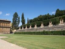 Boboli jardina Amphitheatre - Florença fotos de stock