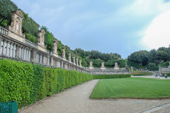 Boboli jardina Florença, Itália Fotografia de Stock