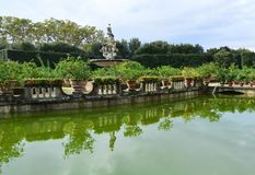 Boboli Ogródy obraz stock