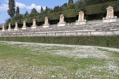 Boboli trädgård i Florence Royaltyfria Bilder