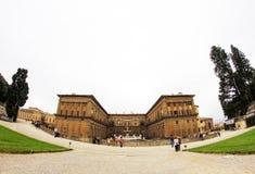 Boboli trädgård i Florence, Italien royaltyfria foton