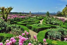 Boboli trädgårdar royaltyfria bilder