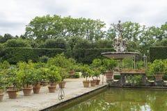 Boboli trädgårdar Royaltyfri Foto