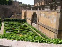 Boboli trädgårdar i Florence Tuscany royaltyfri fotografi