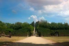Boboli trädgårdlandskap Royaltyfria Bilder