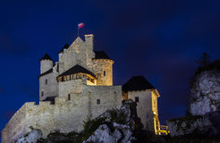 Bobolice Castle Royalty Free Stock Image