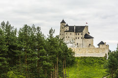 Bobolice Castle in Poland. Stock Image