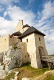 Bobolice castle. Polnad, Silesia. Stock Images