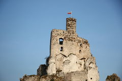 Bobolice Castle. Bobolice Royal Castle in Poland Stock Image