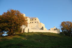 Bobolice Castle. Bobolice Royal Castle in Poland Stock Photos