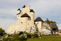 Bobolice - Old castle. Royalty Free Stock Photos