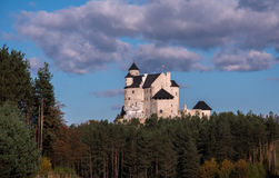 Bobolie slott Arkivfoto