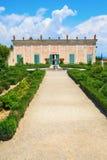 bobolien florence arbeta i trädgården italy Royaltyfri Bild