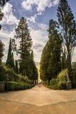 Bobolien Trädgård Giardino di Boboli Parkera arkivbild
