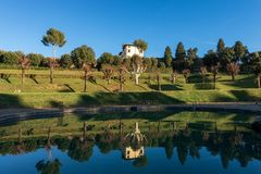 Bobolituinen - Florence Tuscany Italy stock afbeeldingen