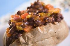 bobowego czarny chili kartoflany kumberland obrazy stock