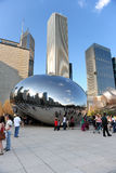 bobowy Chicago milenium park Fotografia Stock