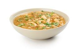 bobowy karmowy grecki zupny tradycyjny Fotografia Stock