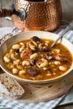 bobowy karmowy grecki zupny tradycyjny Obraz Royalty Free