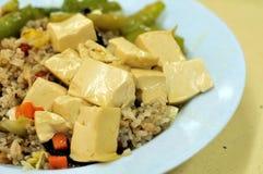 bobowy kuchni curd smażący ryżowy jarosz Obraz Stock