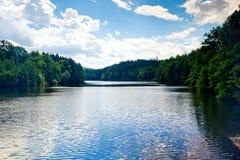 Bobr River, Bobr Valley Landscape Park, Poland Stock Photo